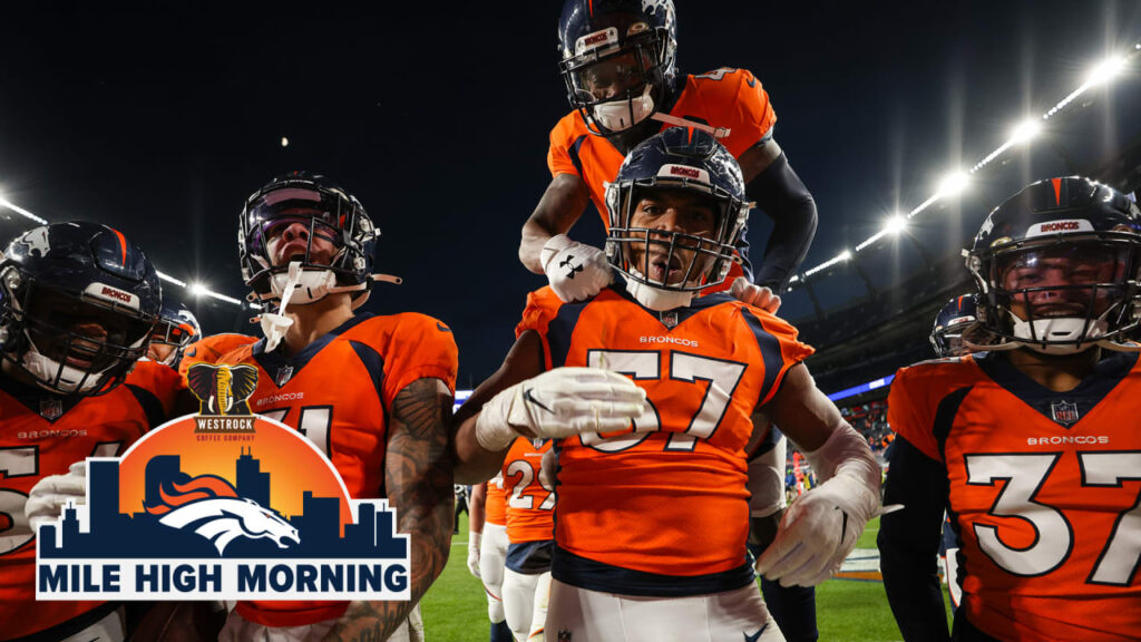 Mile High Morning: Celebrating Victory Monday...