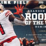 Brandon Aiyuk Continues to Shine, Earning 'Rookie...
