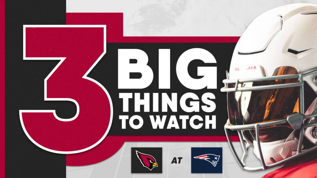 Three Big Things: #AZvsNE