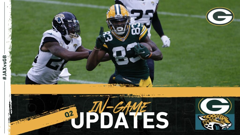 Packers take a 17-10 lead over Jaguars at halftime