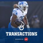 The Colts have signed CB Will Sunderland to their...