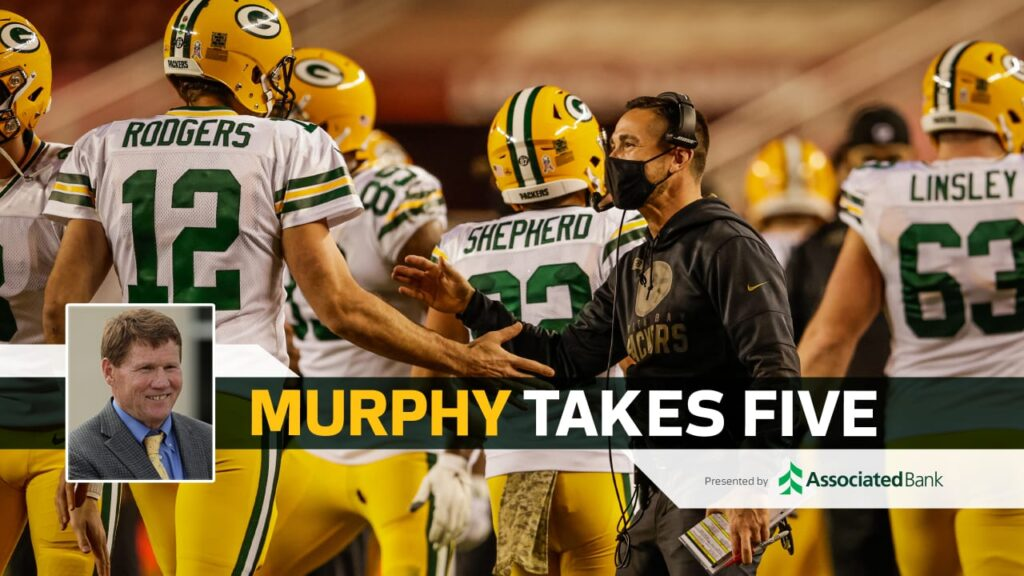 Packers in good shape at halfway point of very...