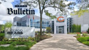 Chicago Bears close Halas Hall after player tests...