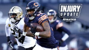 Chicago Bears RB David Montgomery ruled out of...