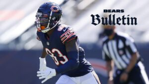 Chicago Bears WR Javon Wims suspended two games by...