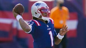 With Patriots' TD pass drought at four games, Cam...