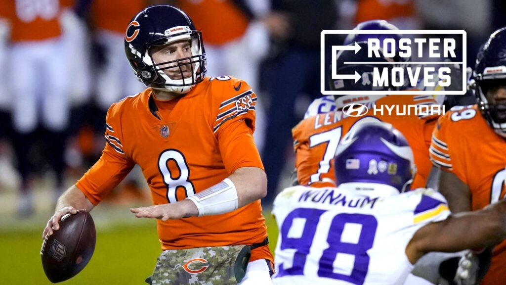 Chicago Bears activate QB Tyler Bray from practice...