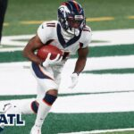 Broncos downgrade Diontae Spencer to out for...
