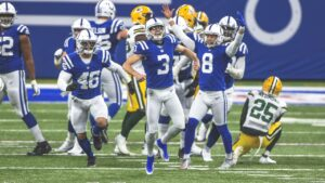 The Colts on Sunday claimed a 34-31 overtime...