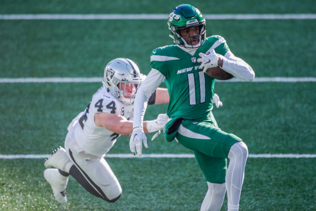 Denzel Mims may miss Jets game because of family...
