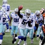 Bengals three lost fumbles hand Cowboys 17-7...