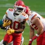 Tyreek Hill out of practice again