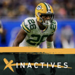 S Darnell Savage, WR Equanimeous St. Brown active...