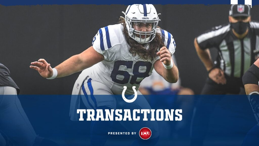 The Colts have elevated C Joey Hunt to the active...