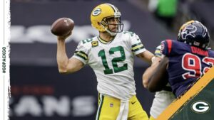 Aaron Rodgers nominated for 2020 Art Rooney...