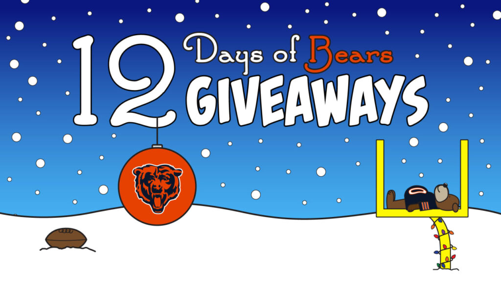 Chicago Bears launch fifth annual 12 Days of Bears...