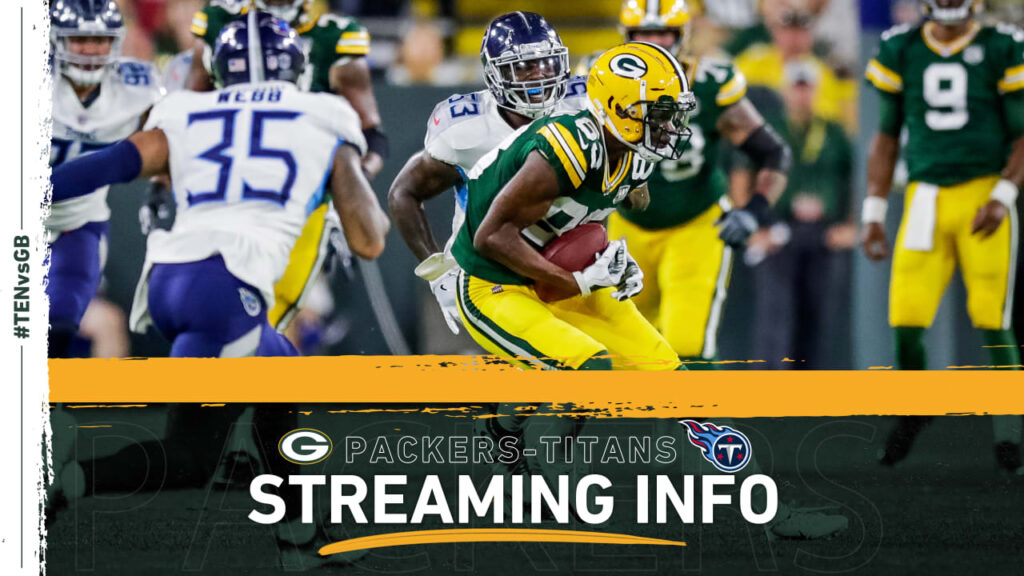 How to stream, watch Packers-Titans game on TV
