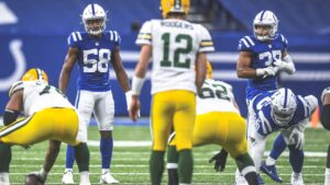 The Colts will have LT Anthony Castonzo, LB Bobby...
