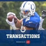 Indianapolis Colts signed punter Austin Rehkow and...