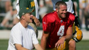 Badgers and Brett Favre -- all part of the charmed...