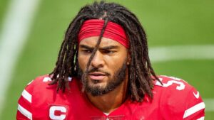 'Badass' Fred Warner the latest to carry on 49ers'...