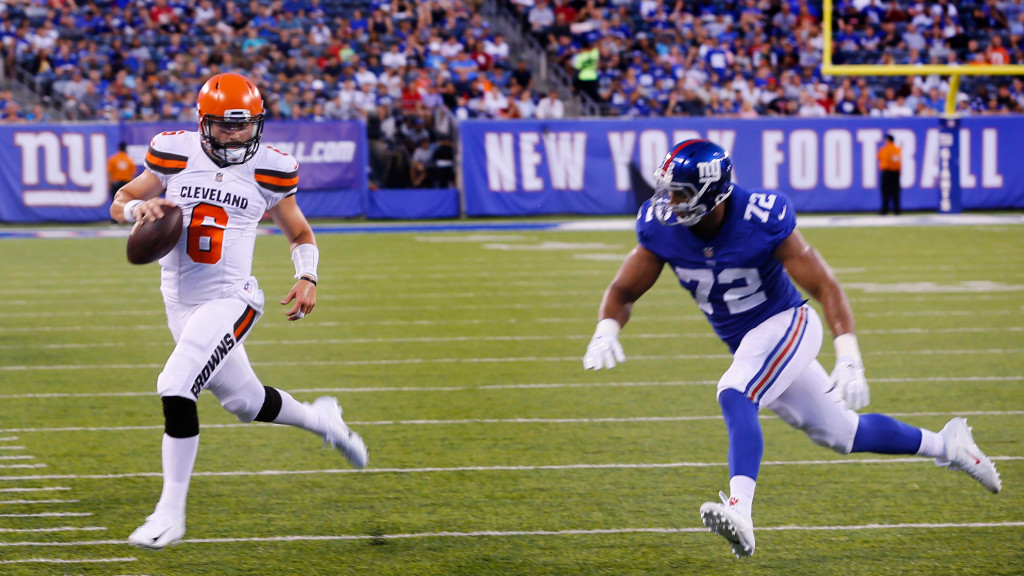 New York Giants open as 3.5-point home underdogs...