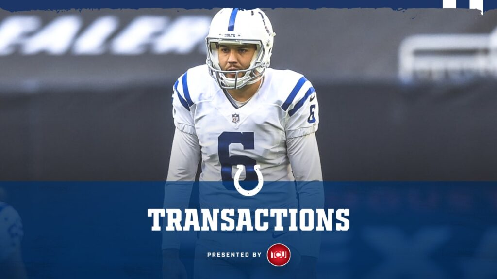 Indianapolis Colts release punter Ryan Allen from...