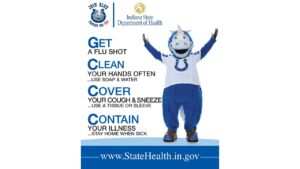 Join Blue And Prevent The Flu During National...