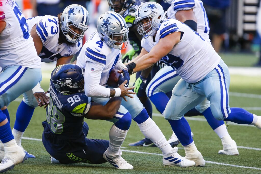 Is help along both fronts the Dallas Cowboys...