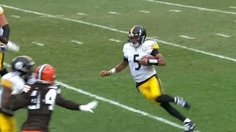 Roethlisberger On Dobbs Possibly Playing Again...