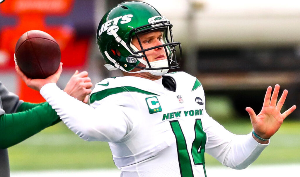 Sam Darnold found positives out of miserable Jets...