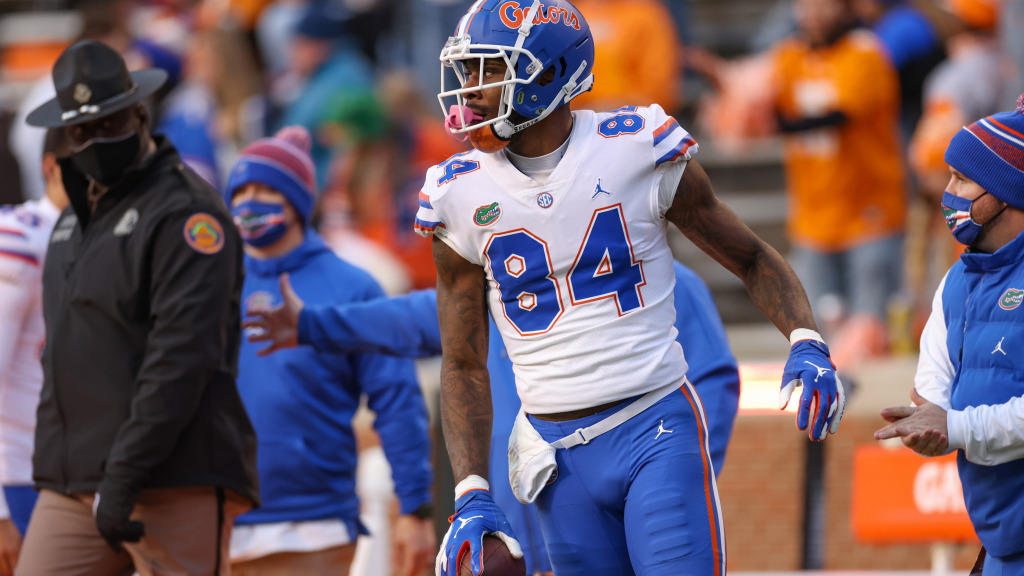Florida TE Kyle Pitts is a contested-catch machine