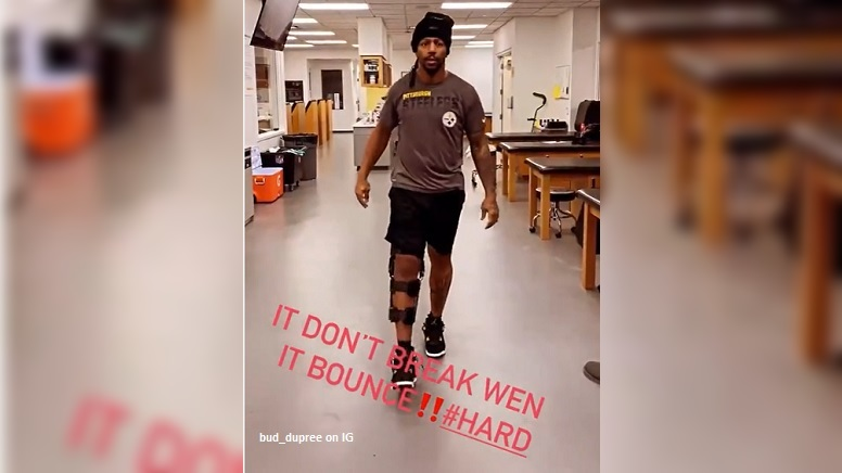 Watch: Bud Dupree Back Walking Again On Surgically...