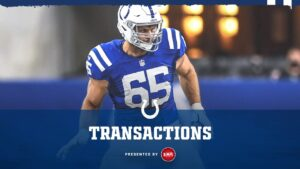 Colts elevated RB Darius Anderson, T Jared...