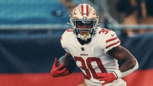 Jeff Wilson Jr. Earns Recognition as 49ers Unsung...