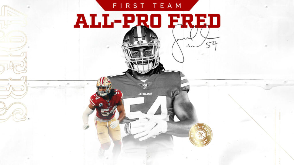 Fred Warner Earns First-Team AP All-Pro Honors