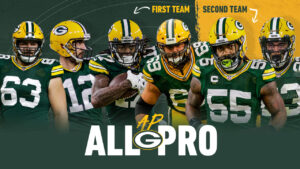 Six Packers players named to All-Pro team