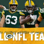 Packers have four PFWA All-NFL selections, two...