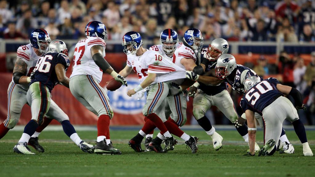 Richard Seymour says Giants won Super Bowl XLII...