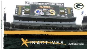 Packers vs. Rams NFC Divisional playoff inactives
