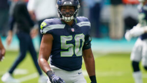 Seattle Seahawks 2021 defensive unrestricted free...