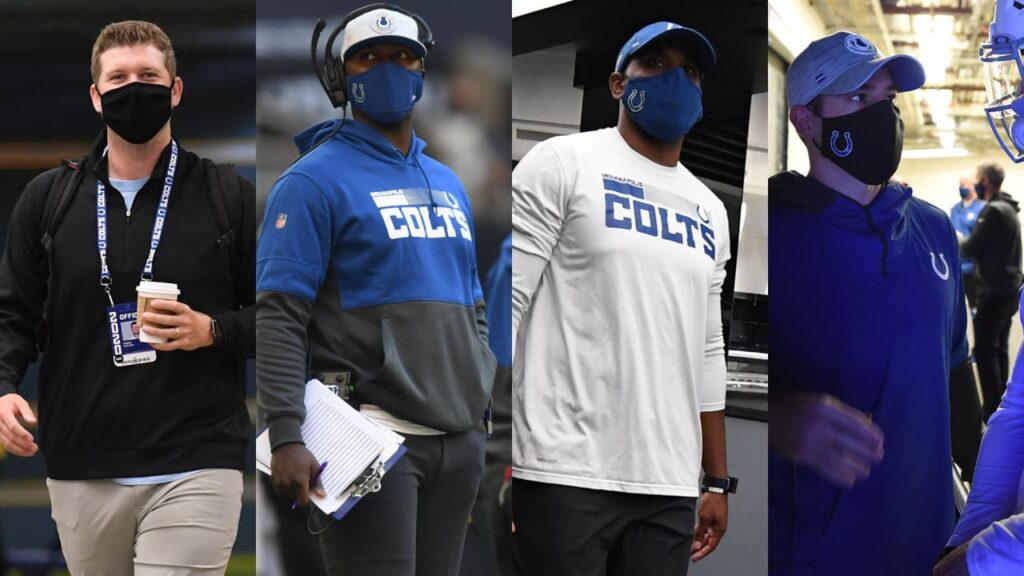 Four Colts assistant coaches will participate in...