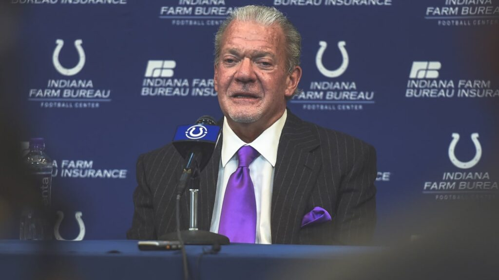 Colts owner Jim Irsay with his thoughts on the...