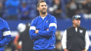 Nick Sirianni, the Colts' offensive coordinator...
