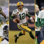 Here's a long list for QB Aaron Rodgers, WR...