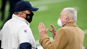 Why Jerry Jones won't pull a John Elway and step...