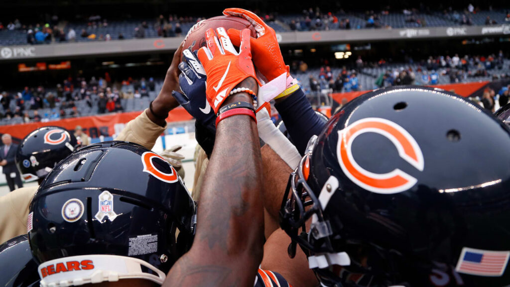 Chicago Bears embraced Dr. Martin Luther King...