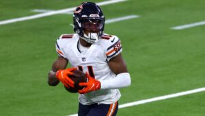 WR Darnell Mooney evolved into team's No. 2...