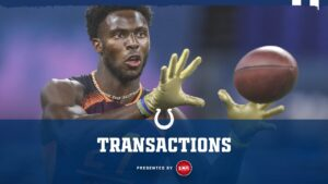 Indianapolis Colts sign WR Gary Jennings & RB...