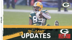 Buccaneers lead Packers 7-0 after first quarter